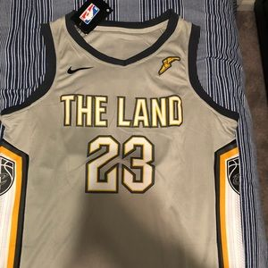 """NWT """"The Land"""" #23 Lebron James Jersey"""